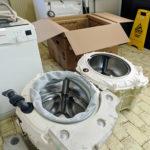 Menjava pralne enote